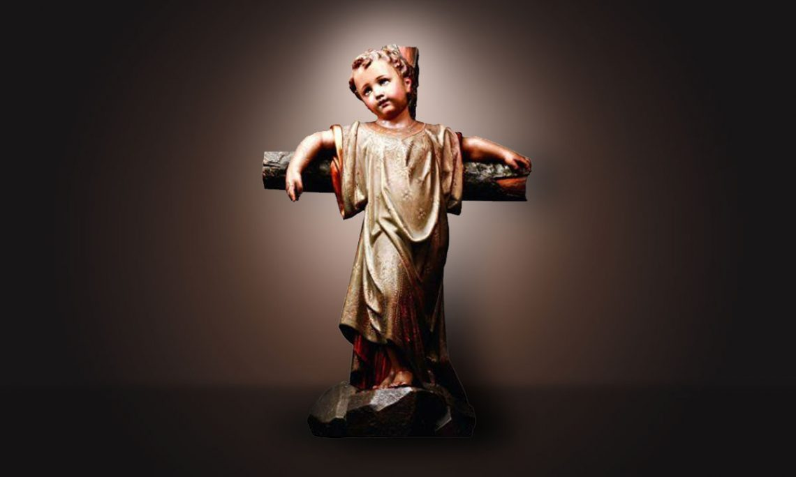 Jesus, homem de dores desde o seio de sua Mãe - Arsenal Católico