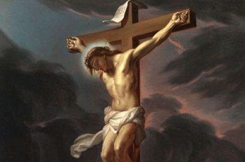O grande livro que é o crucifixo