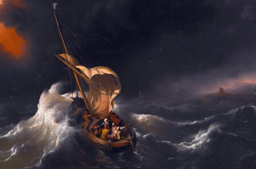 Jesus manda aos ventos